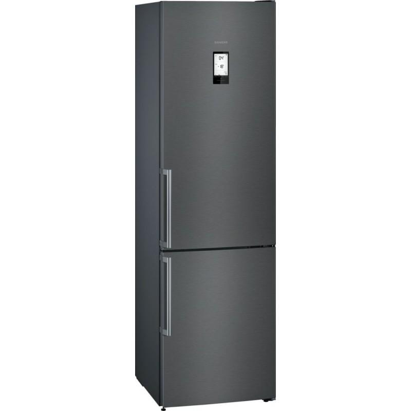 Combi Siemens KG39NHXEP black stainless 204 x 60 cm