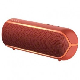 Altavoz portatil Sony Srsxb22r Bluetooth Extra Bass Live Sound rojo