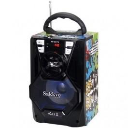Mini cadena portatil Sakkyo Apm174d Bateria 10w Calaveras Karaoke