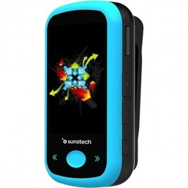 Reproductor mp4 Sunstech ibizabt4gbbl bluetooth 4gb Azul