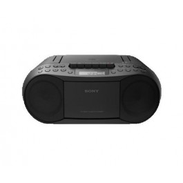 Radio reproductor Sony Cfds70b Cd cassette negro