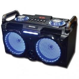 Mini Cadena Portatil Sakkyo Dj630 Karaoke Bateria recargable