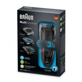Afeitadora Braun Mg5050 3en1 wet&dry Multigroomer