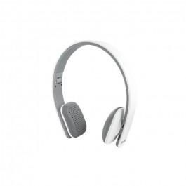 Auriculares Diadema Elbe Abt005bl plegable Bluetooth blanco
