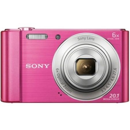 Camara de fotos Sony Dscw810p 20.1mp 6x rosa
