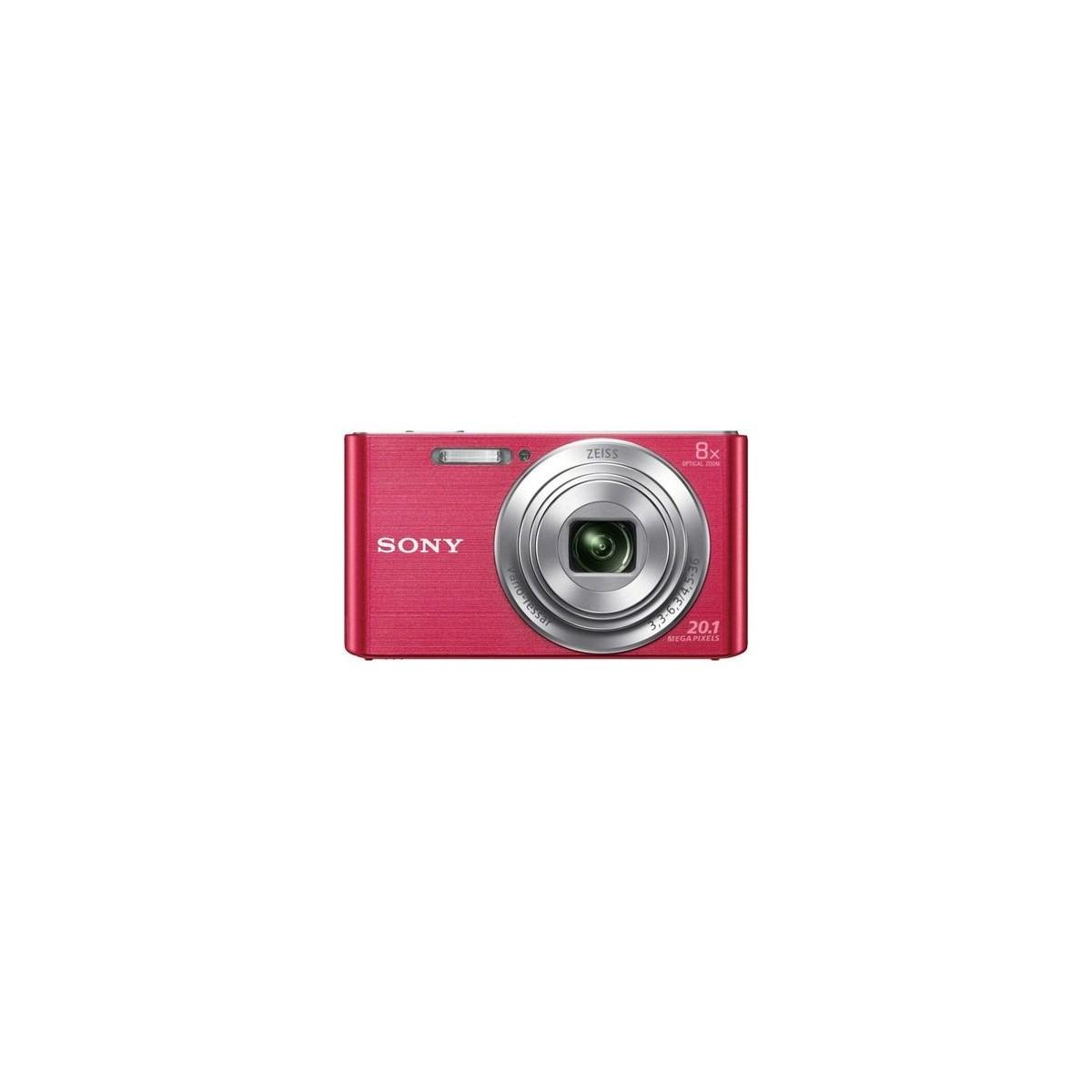 Camara fotos digital Sony Dscw830pb Rosa