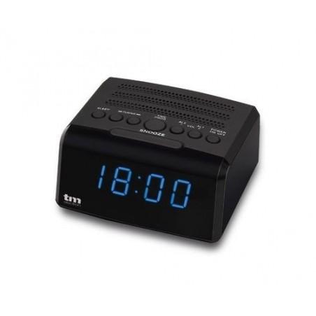 Radio reloj despertador Tm Tmrar010 usb auricular