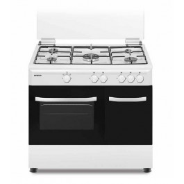Cocina de gas Infiniton CC9060ELP 90cm blanca