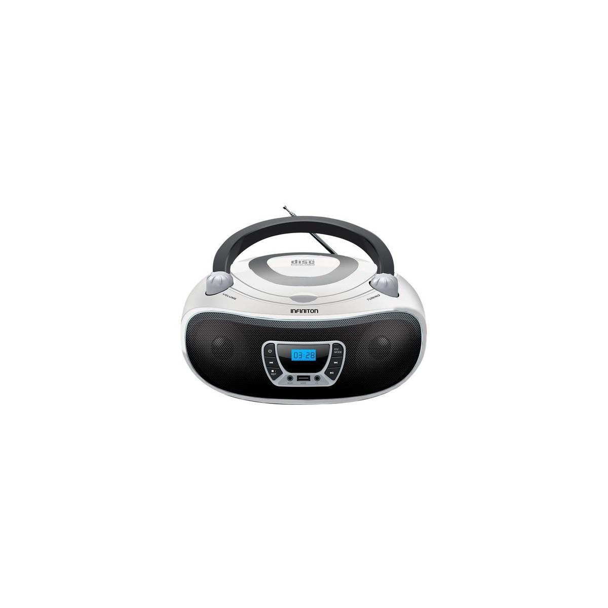 Radio CD Infiniton Mpcdbt94 bluetooth blanco