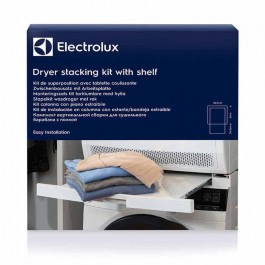 Kit de superposición electrolux E4yhmkp2 con estante deslizante