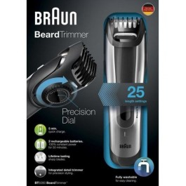Afeitadora Braun BT5090 negra/gris