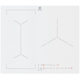 Placa de inducción Electrolux EIV63342CW 60cm blanca
