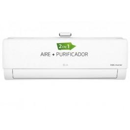 Aire acondicionado + Purificador Split 1x1 Inverter LG 2150 frig/h 2838 kcal/h