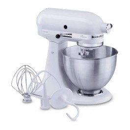Robot Cocina Kitchenaid 5K45SS Classic Blanco 4.2L