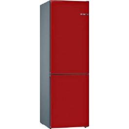 Frigorífico Combi Bosch 203X60 Rojo Cereza KVN39IREA