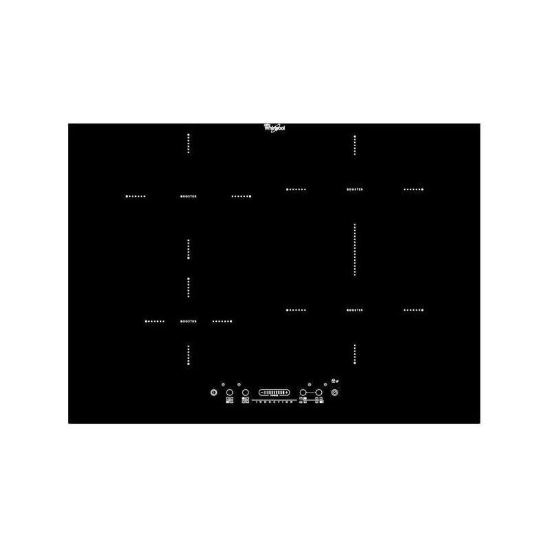 Placa de inducción Whirlpool ACM 760 BA / N hueco 56-68cm ancho 70cm