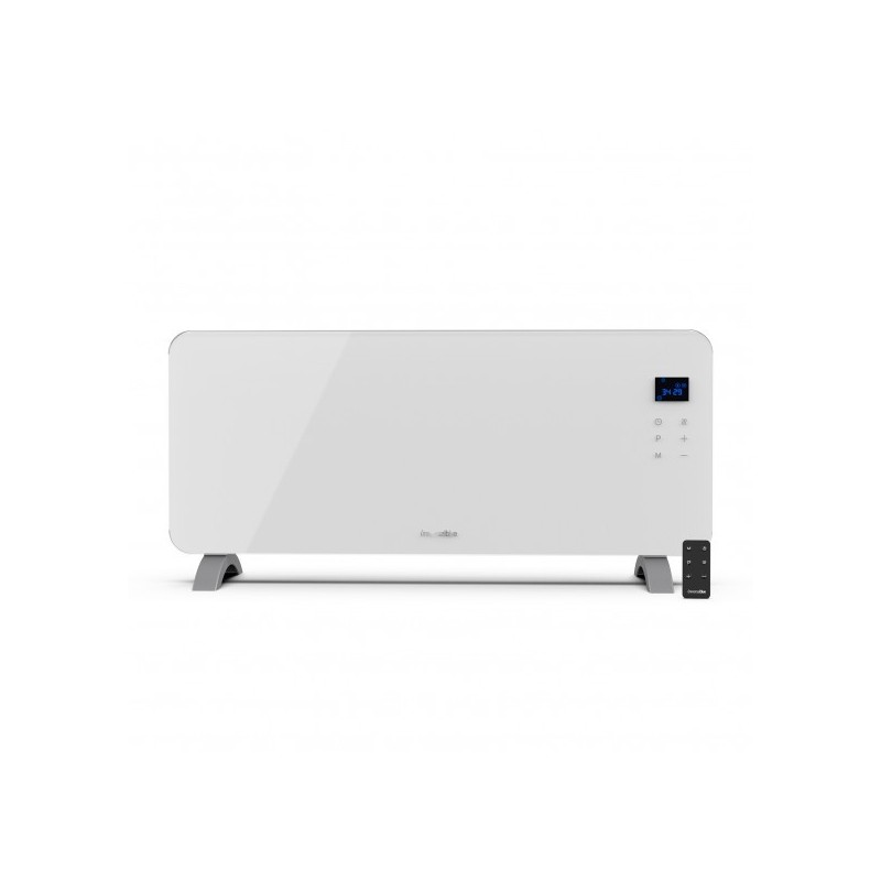 Panel de cristal 2000W color  blanco