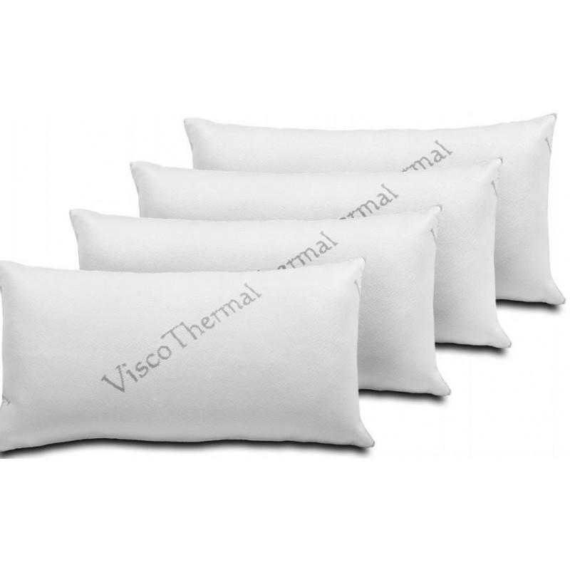Pack de 4 Almohadas Visco Thermal 70cm