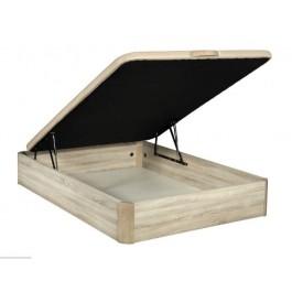 Canapé abatible de madera Cambrian 80x190 cm