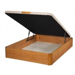 Canapé abatible de madera Cerezo 80x190 cm