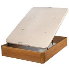 Canapé abatible de madera Cerezo 90x190 cm