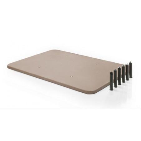 Base tapizada 135x190 cm