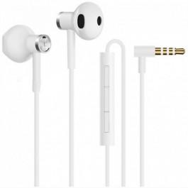 Auriculares Xiaomi mi dual driver earphones white