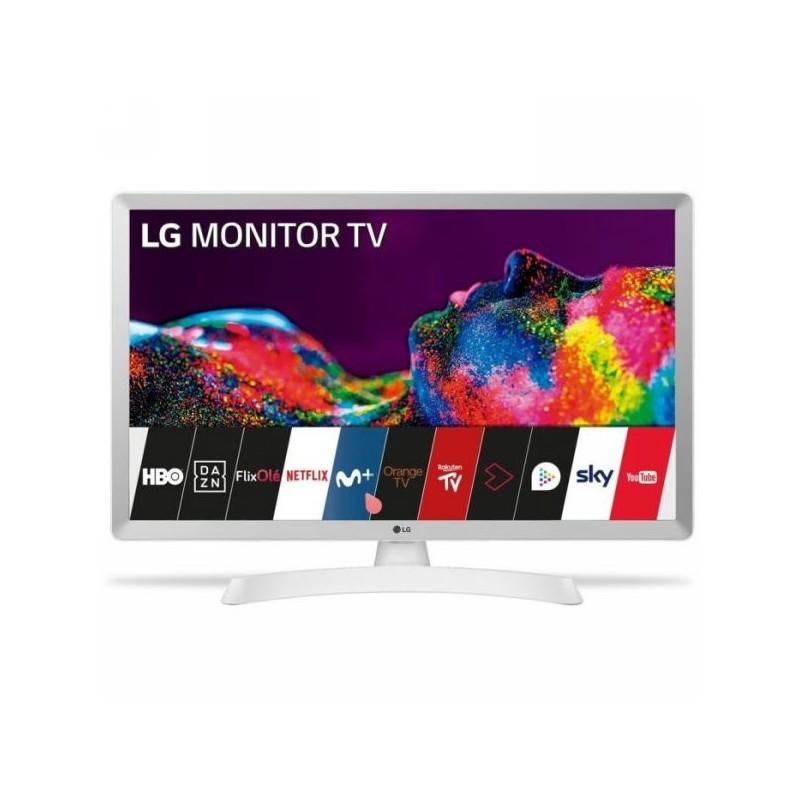 "Televisor Lg 28TN515SWZ 28"" Smart tv  blanco"
