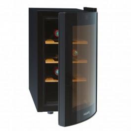 Vinoteca Hkoenig 8 botellas 70W 25L 41 dB 3 estanterías