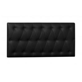 Cabecero Capitoné Tapizado Polipiel 150x60 cm Negro