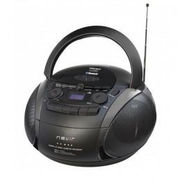 RADIO CD CASSETTE NVR-482U NEGRO
