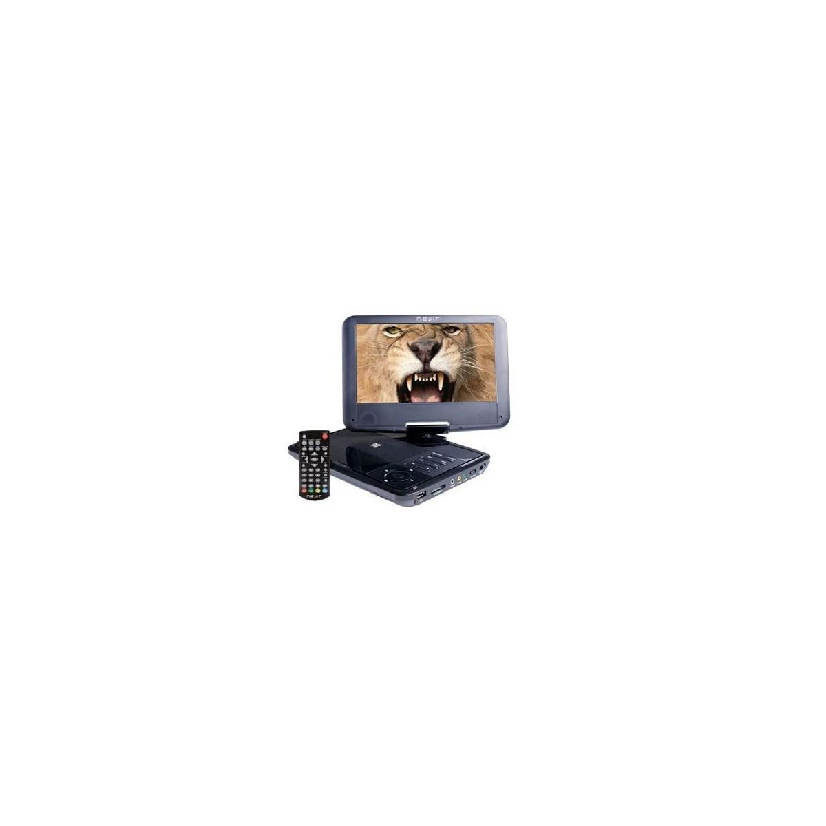 """DVD PORTATIL 9\"""" NVR-2781DVD- USB"""