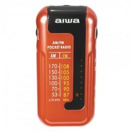 Radio de Bolsillo AIWA R-22BL Color Rojo