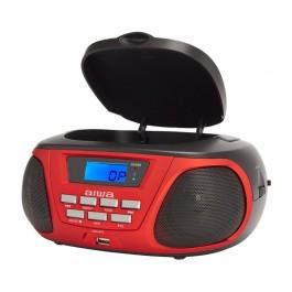 Radio cd bbtu-300bl rojo bluetooth