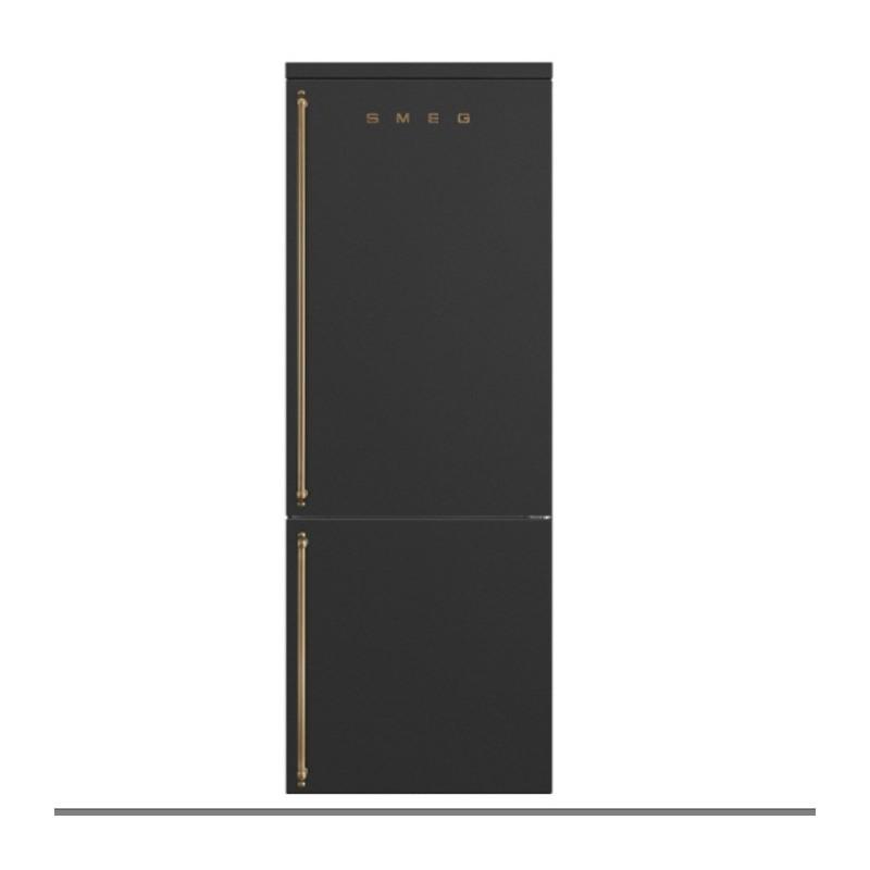 Combi SMEG FA8005RAO Antracita 195x70cm Derecha