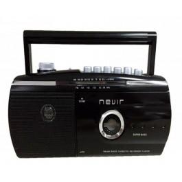 Radio Cassette  NVR-434T  Negro