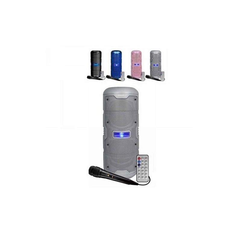Altavoz INFINITON K50 50W BLANCO MICRO+LUCES con Bluetooth