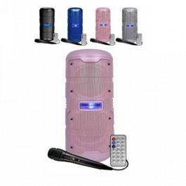 Altavoz INFINITON K50 50W ROSA MICRO+LUCES con Bluetooth