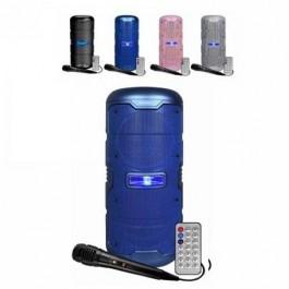Altavoz INFINITON K50 50W AZUL MICRO+LUCES con Bluetooth