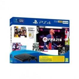PLAY STATION SLIM 500GB + FIFA 21