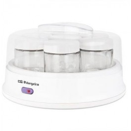 Yogurtera Orbegozo YU2350 para 7 Yogures 15W