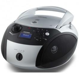 RADIO CD RCD-1500 BLUETOOTH PLATA