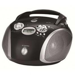 Radio CD Grundig RCD1445USB USB Negro / Plata