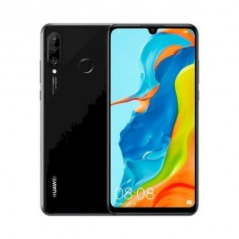 "MOVIL HUAWEI P30 LITE 6.15"" 4G 8CORE 6GB 256GB DUAL SIM TRIPLE CAMARA NEGRO"