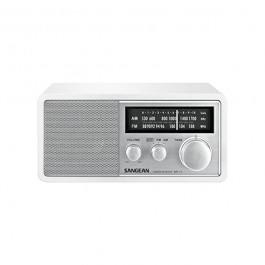 RADIO SANGEAN WR11W SOBREMESA MADERA BLANCA