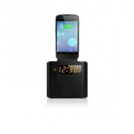 Radio reloj Philips AJ320012, con carga para smart