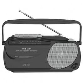 RADIO CASSETTE  NVR-443T NEGRO/ PLATA