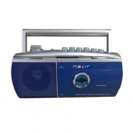 RADIO CASSETTE  NVR-434T  AZUL
