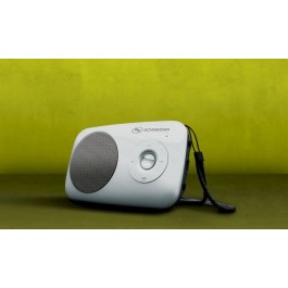 Radio SCHNEIDER 8436027043126 Radio Speaker SD Rainbow  Black