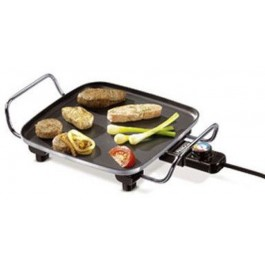 Parrilla Grill Princess PS102210 Mini Cheff 28 x 28 Cm Termostato Regulable